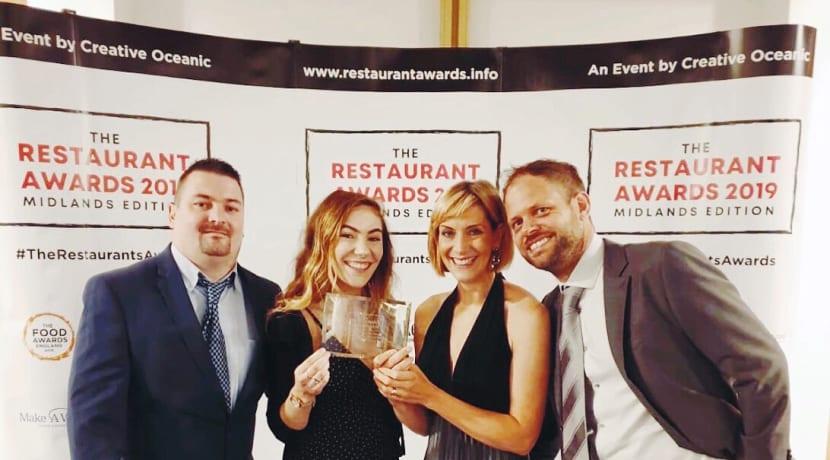 Bromsgrove business wins Best Mediterranean Restaurant of the Year Award 2019