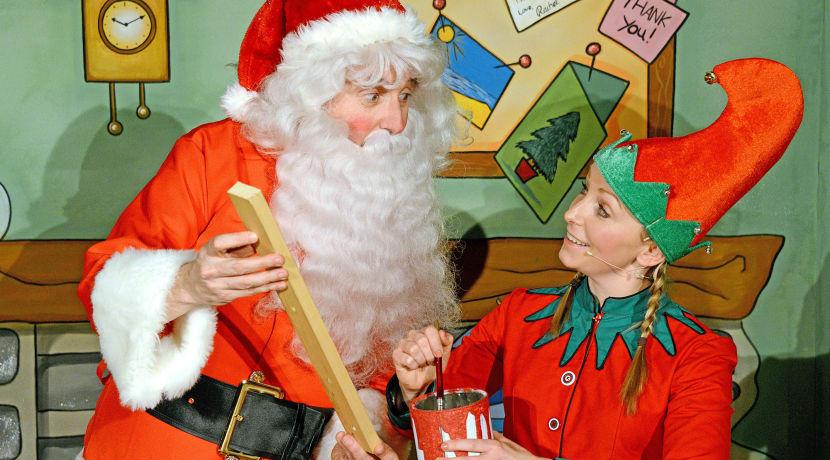 Here Comes Santa Claus - Santa's Dizzy Day comes to the Belgrade