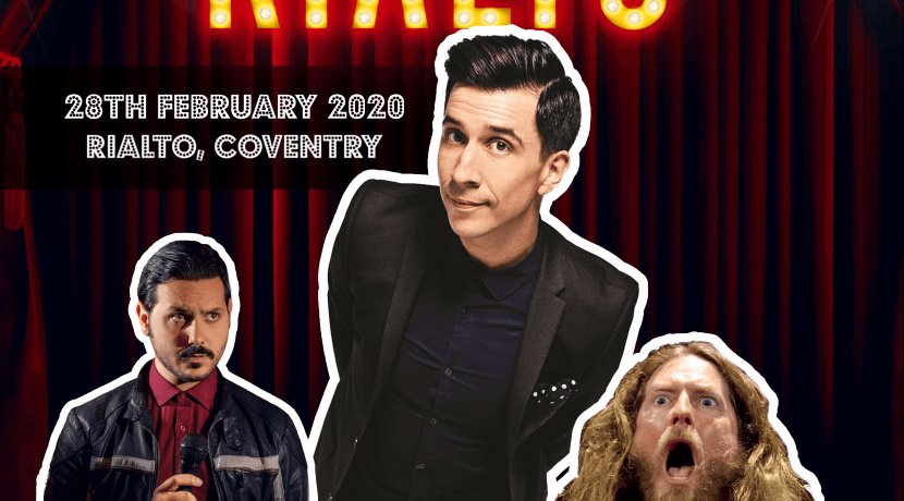 Russell Kane to headline comedy show in Coventry