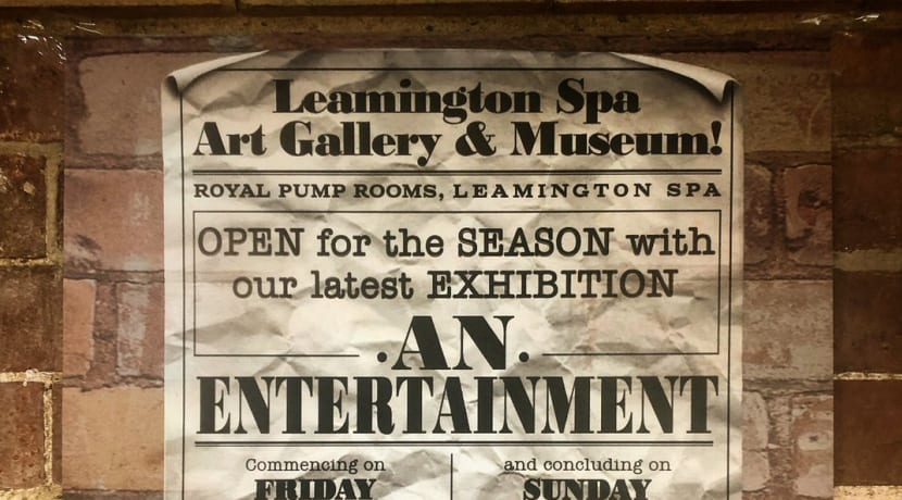 'An Entertainment' opens at Leamington gallery this week