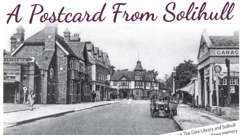 A Postcard from Solihull opens this week