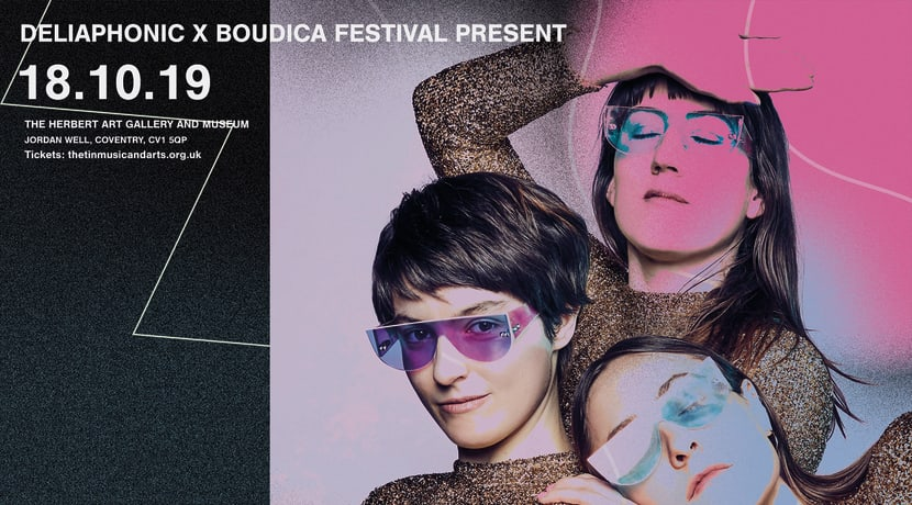 Deliaphonic x Boudica Festival Present Stealing Sheep's Wow Machine + Jerry Dammers DJ Set