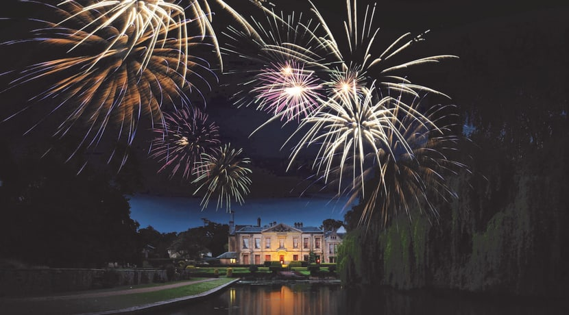 Fireworks, highland pipers & flowing champagne expected at an award-winning Warwickshire hotel