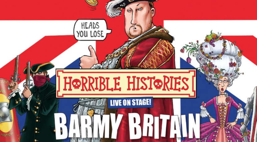 Car Park Party bring Horrible Histories - Barmy Britain to NEC Birmingham