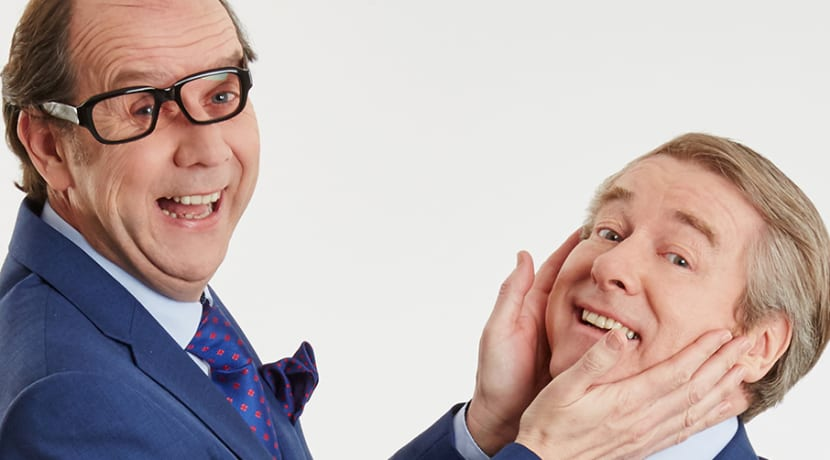 Morecambe and Wise brought back to life on stage at Stratford Playhouse next month