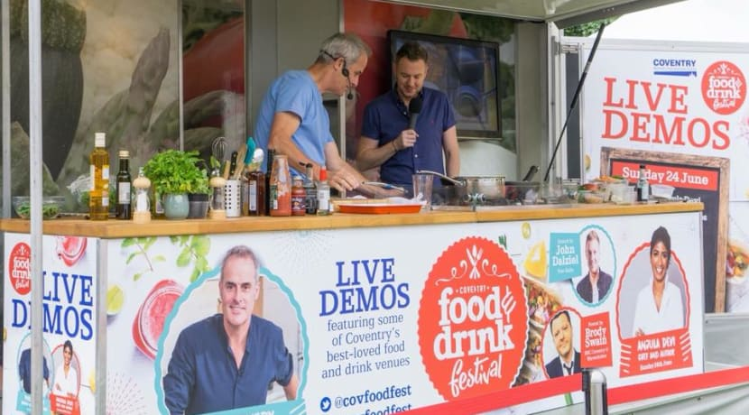 Coventry Food Festival has been cancelled