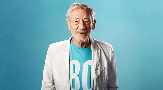Ian McKellen celebrates his 80th birthday in the Midands