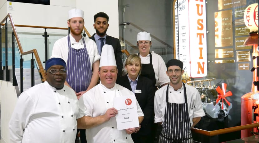 British Motor Museum wins Gold and Silver in the 'FreeFrom Eating Out Awards'
