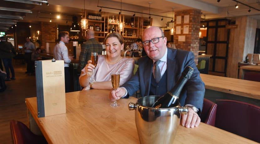 Celebrations as Whitbread opens Bar + Block in Leamington Spa