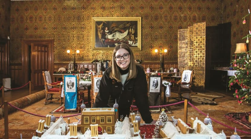 Gingerbread creation on show at Stratford National Trust property