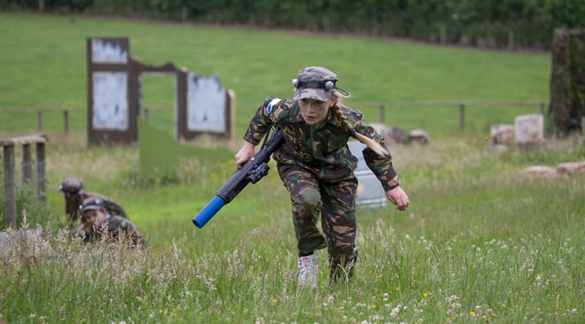 Outdoor laser combat experience on offer at Hatton Country World