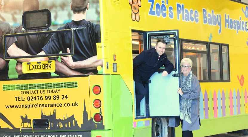 Coventry business on board with new-look charity bus