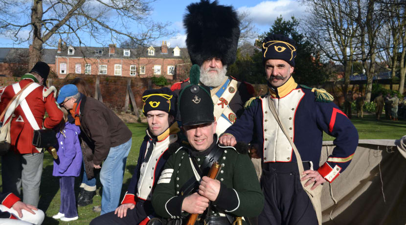 Major re-enactment takes place in Worcester this weekend