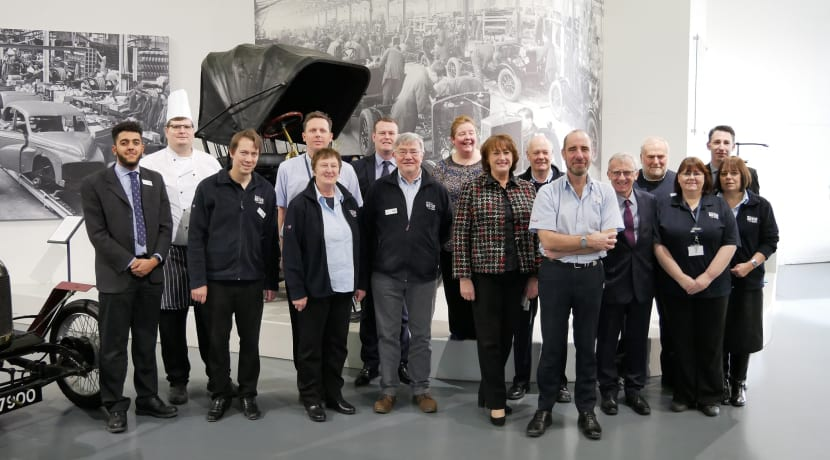 British Motor Museum awarded a VisitEngland Welcome Accolade