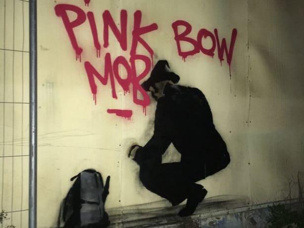 Possible Banksy artwork sighting in Rugby