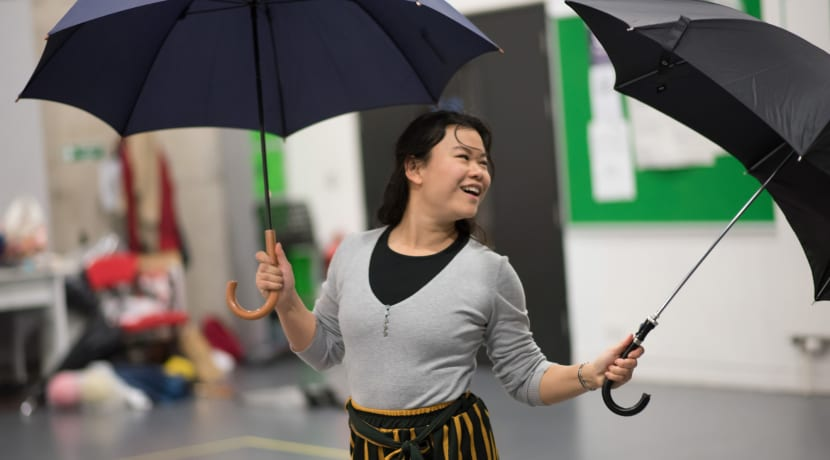 Lian Wilkinson and Amy Ng discuss world premiere of Under the Umbrella