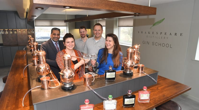 Shakespeare Distillery opens its doors to new premises and its state-of-the-art Gin School