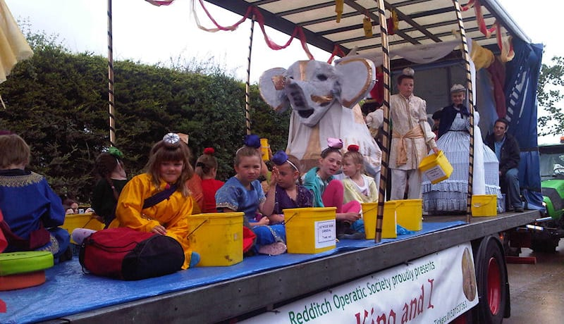 Redditch Carnival reverts to traditional format from 2020