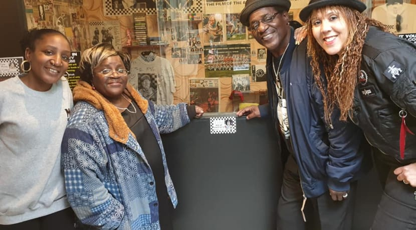 Commemorative plaques available to buy at Coventry Music Museum