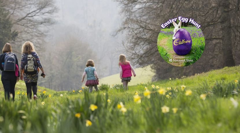 Join the Easter egg hunt at Charlecote Park