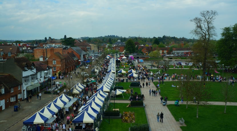 International flavours fill Stratford-upon-Avon as part of the Shakespeare's Birthday Celebrations