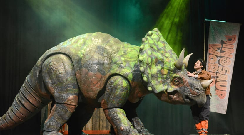 Dinosaur World Live brings roar-some puppetry to the Belgrade Theatre