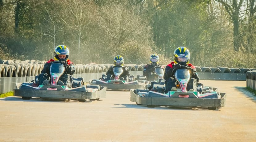 Warwickshire's first outdoor karting track opens to public