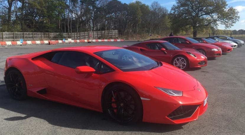Supercar rally pauses journey in Stratford-upon-Avon