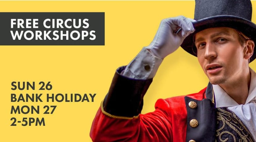 Roll up, roll up, the Circus comes to Stratford this weekend