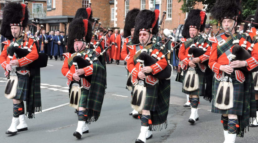 Bromsgrove Court Leet celebrates town's history