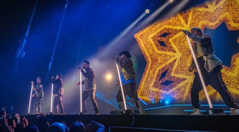 Backstreet Boys deliver 'Larger Than Life' performance at the Arena Birmingham