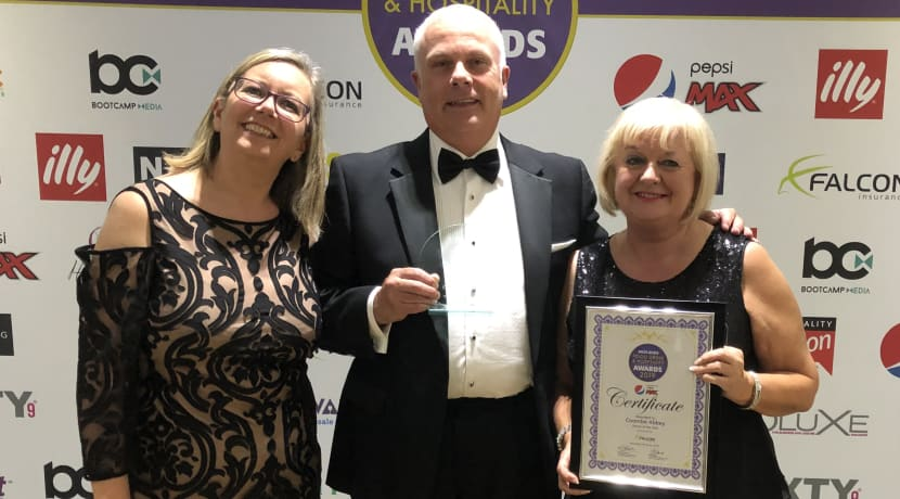 Coombe Abbey Hotel scoops more industry recognition after being named Venue of the Year