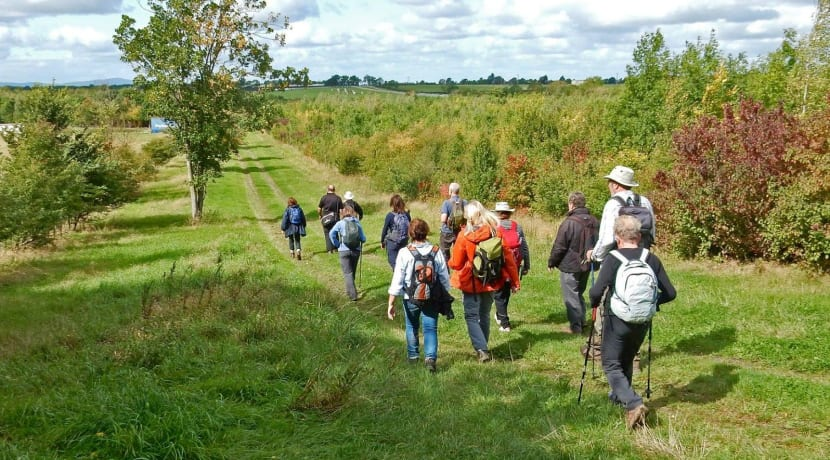 The first Evesham Walking Festival begins