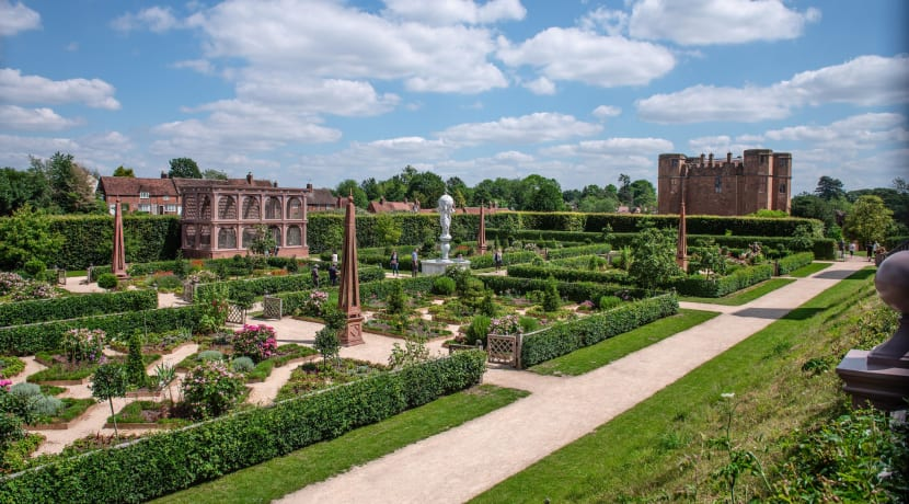 Refresh for Kenilworth Castle's Garden of Love