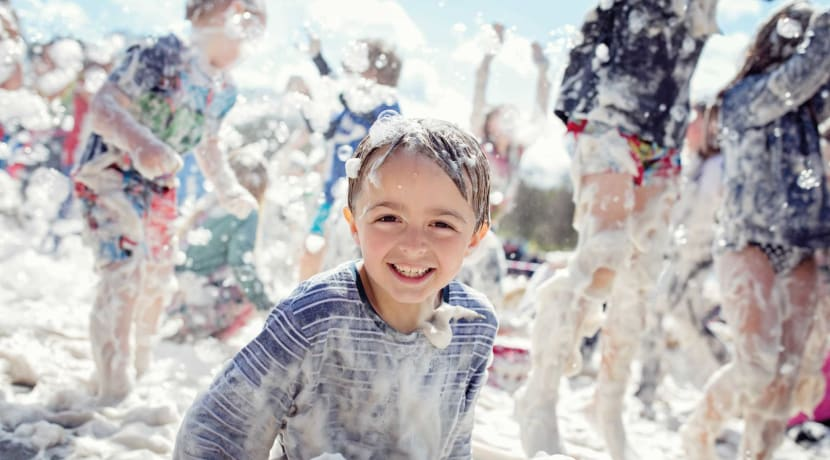 Enjoy foam parties & sports day races at Hatton this summer
