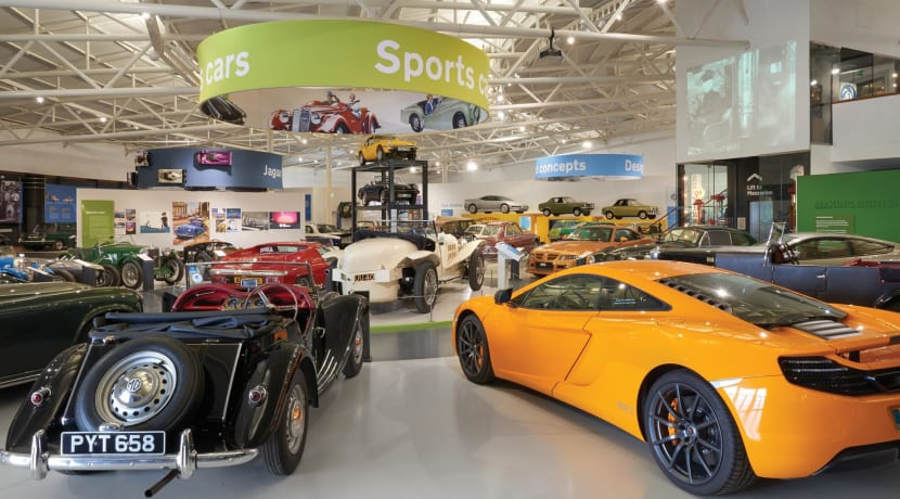 British Motor Museum looks to the future of the car industry in new exhibition