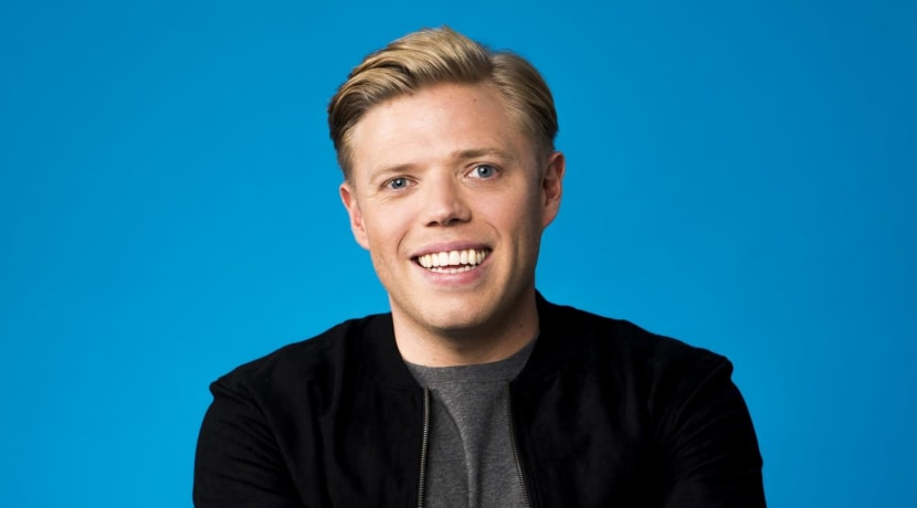 Funny man Rob Beckett trials new material in Redditch