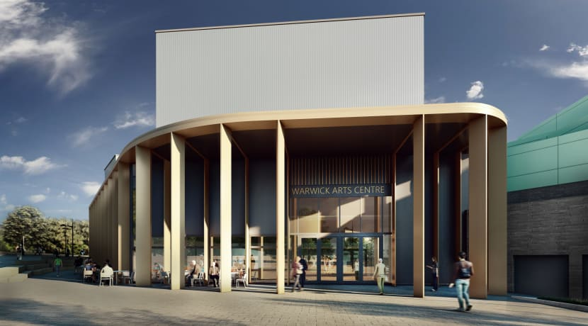 Warwick Arts Centre development is underway