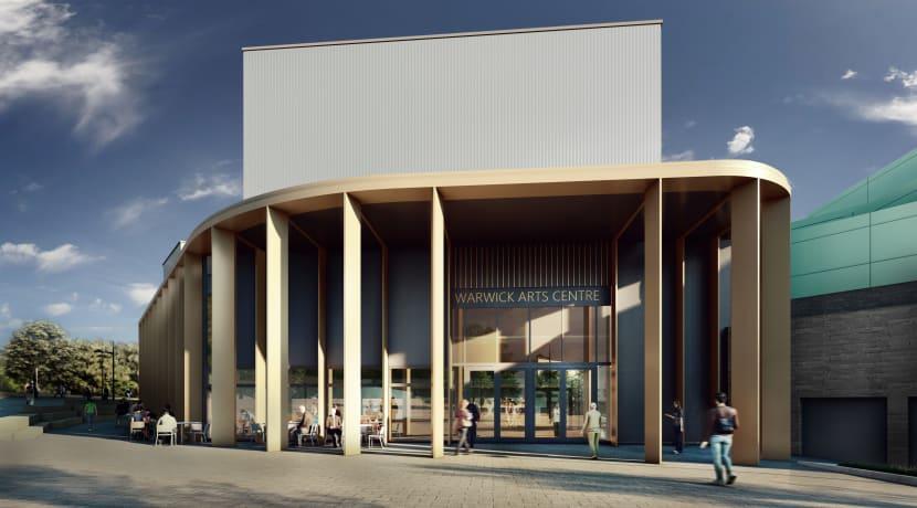 Warwick Arts Centre development is underway