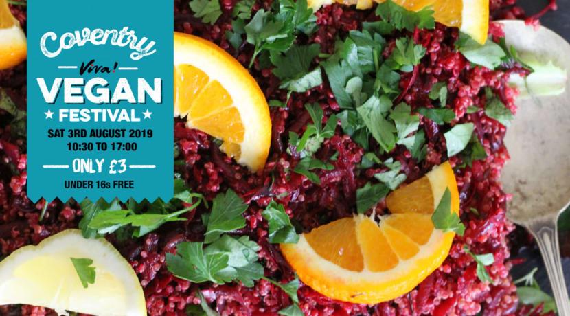 Popular vegan festival returns to Coventry