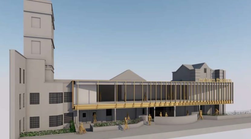 Extension of Malvern Theatres to be debated