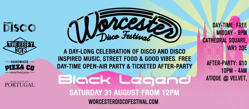 Worcester Disco & Street Food Festival takes over Cathedral Square