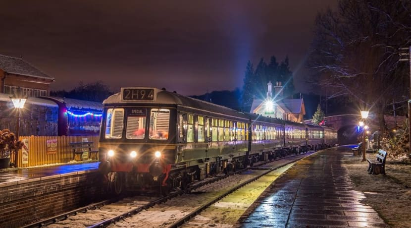 Enjoy an evening of carols on board the Severn Valley Railway this festive season