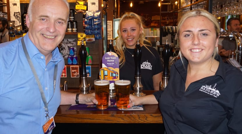 West Midlands Railway on board with Sadler's Brewery to launch Last Train Home