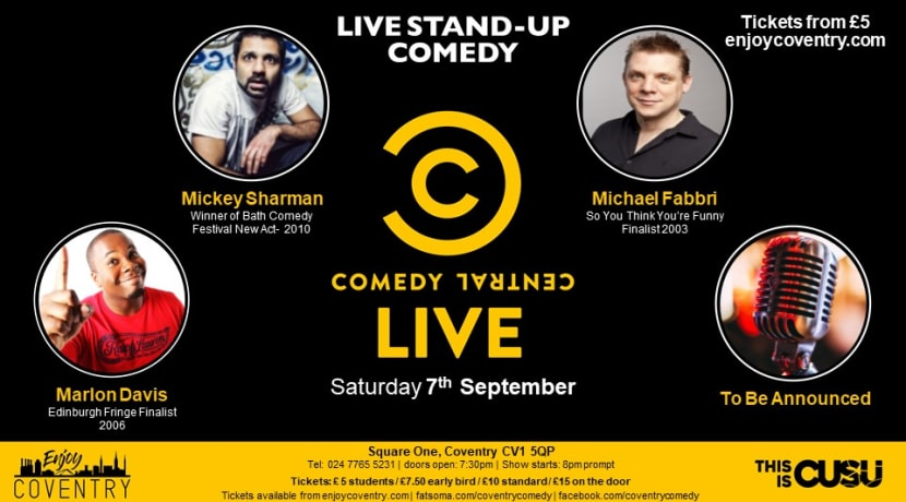 Award-winning comedians perform at monthly event in Coventry