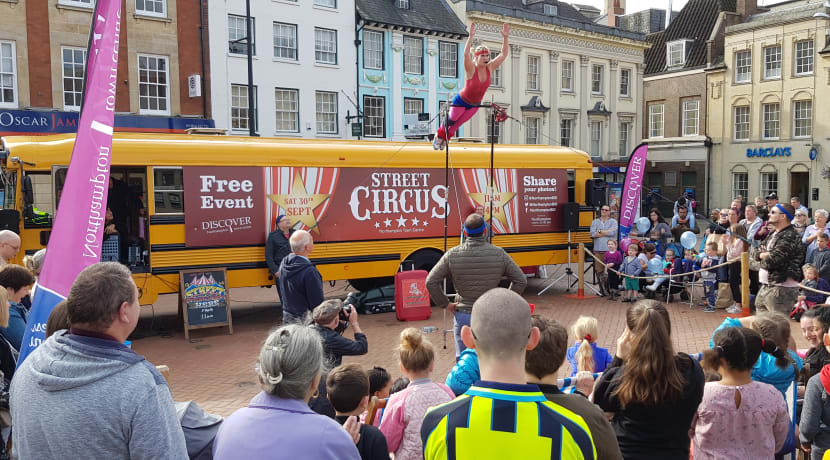 The circus comes to Solihull town centre this month