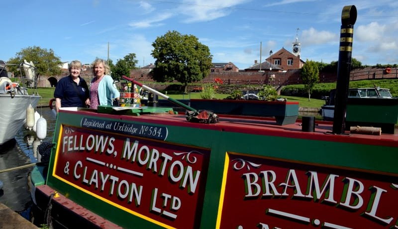 Boat tour forms centrepiece of National Heritage Day in Kidderminster