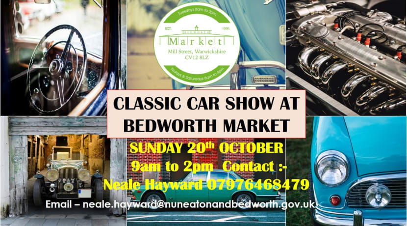 Popular Classic Car Show returns to Bedworth next month