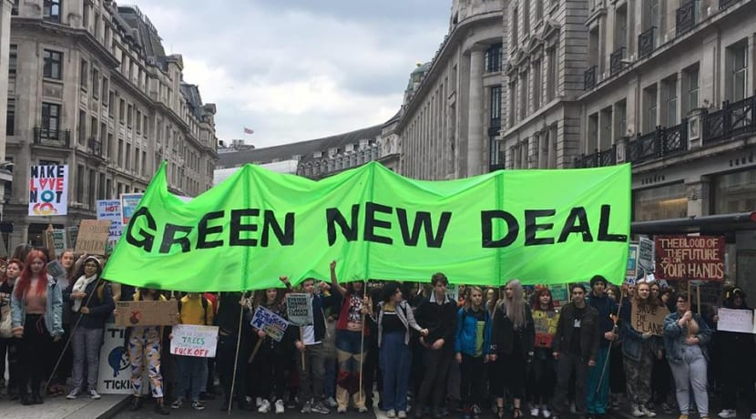 Global Climate Strike takes place across the UK today