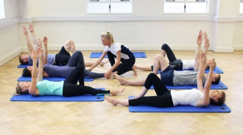 Pilates-led physiotherapy at Being Well Festival